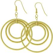 Icon Bijoux E01615K-V01 Golden Illusion Earrings