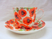 Field Poppy Jumbo Cup and saucer