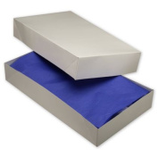Deluxe Small Business Sales 51-241404C-9 24 x 36cm x 10cm . Two-Piece Apparel Boxes White