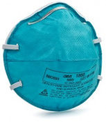 3M 1860 Standard Size Health Care Particulate Respirator And Surgical Mask - 20 Per Box