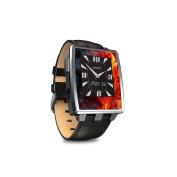 DecalGirl PSSW-FLWRFIRE Pebble Steel Smartwatch Skin - Flower Of Fire