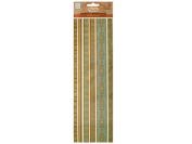 Bulk Buys CG466-96 Blues Decorative Fabric Borders Stickers