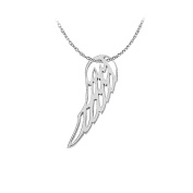 Fine Jewellery Vault UBPD3059AG Gorgeous Angel Wing Pendant in 925 Sterling Silver Fab Jewellery Gift