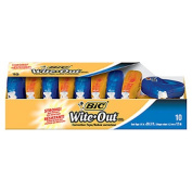 BIC Usa Inc BICWOTAP10 Bic Wite Out Ez Correct Correction Tape 10Pk