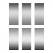 Eureka EU-627003 Scratch Off Stickers Rectangles