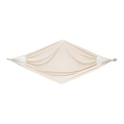 Bliss Hammock BH-401D Oversized Brazilian Hammock in Natural Canvas White