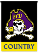 BSI Products 83228 Ncaa East Carolina Pirates 2-Sided Country Garden Flag