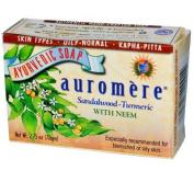 Auromere AY57255 Auromere Sandal Turmeric Soap -1x80ml