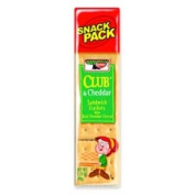 Keebler Co. KEB21163 Club Cheddar Crackers Snack Pack 50ml12-BX