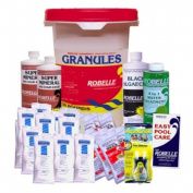 Robelle 2970-13 Chemical Maintenance Kit with Chlorinating Granules