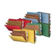 Nature Saver NATSP17371 Classification Folders End Tab Ltr 2-Div 10-BX Blue
