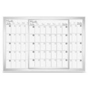 Lorell LLR52503 Magnetic Calendar Board 60cm . x 90cm . Frost