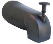 Larsen Supply 08-1047 Bronze Universal Style Bath Tub Diverter Spout