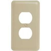 American Tack Co 1402445 Duplex Plate Almond