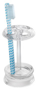 Interdesign 45320 Clear Acrylic Plastic Toothbrush Stand