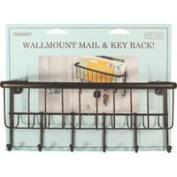 Inter-Design Mail Centre Wallmount Bronze 58971