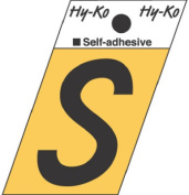 Hy-Ko Products GR-10-S 3.8cm . Aluminium Adhesive Angle Cut S Pack Of 10