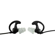 EP5 Sonic Defenders Max Earplugs Black - Small 1 Pair