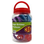 Teacher Created Resources TCR6577 Happy Birthday Wristbands Jar
