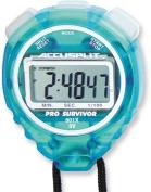 Accusplit A601XAQ Pro Survivor Stopwatch with Aqua Case