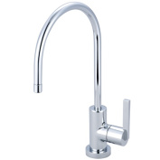 Kingston Brass KS8191CTL Gourmetier Continental Water Filtration Faucet Chrome