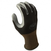 Showa Best Glove 370BS-06.RT Small Atlas 370 Nitril Black Glove