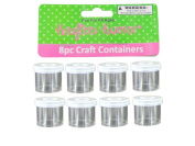 Small craft containers 8 pack - Pack of 72