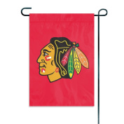 Party Animal Inc. GFBLA Garden or Window Flag - Chicago Blackhawks