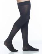 Sigvaris Midtown Microfiber 821NLSM99 15-20 mmHg Mens Thigh Large Short - Black