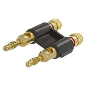 Cmple 271-N Dual High-Quality Speaker Banana Plugs - Black