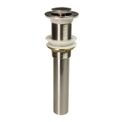 Dyconn Brushed Nickel Pop-Up Drain