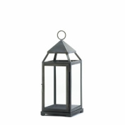 Eastwind Gifts 10016944 Rustic Silver Contemporary Lantern