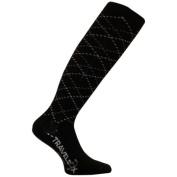 Travelsox TS 5000W Patented Graduated Compression OTC Socks 10-18 Mmhg Black - Large