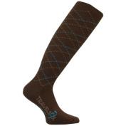Travelsox TS 5000W Patented Graduated Compression OTC Socks 10-18 Mmhg Brown - Medium