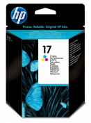 . . . For For Hewlett Packard C6625AN HP BR DESKJET 840C - 1- NUMBER 17 SD TRI colour INK