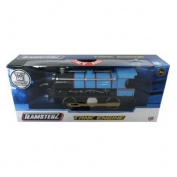 Teamsterz 1:55 Light And Sound Locomotive Steam Train Tank Engine ~ Blue