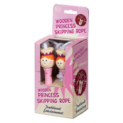 Tobar Wooden Princess Skipping Rope