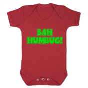 Boy's Bah Humbug Outfit Baby Grow Bodysuit Gift