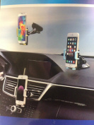 3 in 1 Universal Mobile Phone car holder 360 degree rotate able Dashboard, Air Vent and Windscreen Car Holder / Mount Cradle / Works on Dashboard / Air Vent and Windscreen, Car Mount Holder Cradle for iPhone, Samsung, Google, HTC, Motorola, Nokia, LG a ..
