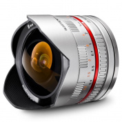 Walimex Pro 8mm f/2.8 Fisheye Lens for Samsung NX - Silver
