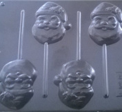 SANTA / FATHER CHRISTMAS CHOCOLATE LOLLIPOP MOULD