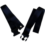 Wheelchair lap belt strap / safety seat belt with plastic buckle