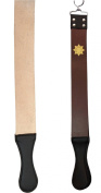 Thick Leather Sharpening Strop For Barber Straight Razor Knife Shaving Shave