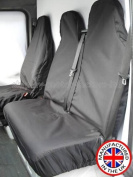 Peugeot Expert L2 1200 2.0 Hdi High Quality Heavy Duty Waterproof Van Seat Covers Protectors - GREY