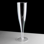 Disposable Plastic 170ml Champagne Glass or Flute