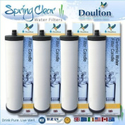 4 Pack - Doulton Supercarb M15 Water Filter Cartridges