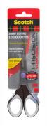 3M Scotch Precision Ultra Edge Titanium Non-Stick Scissor, 18cm , Assorted Accent Colours (Dot Colour Will Vary)