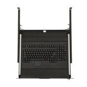Kendall Howard 1U Rackmount 4-Post Keyboard Tray