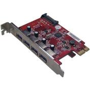 Mediasonic HP1-U34F 4-Port USB 3.0 PCI Express Card