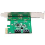 Syba SI-PEX40089 IOCrest 2-Port SATA III RAID PCI-e2.0 x1 with Low-Profile Bracket